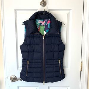 NWT Lilly Pulitzer Puffer Vest